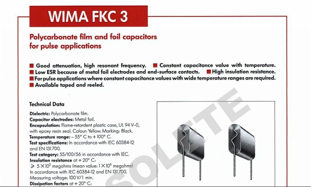 wima fkc3