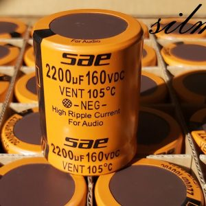 خازن های گرید صوتی 2200 میکرو فاراد 160 ولت