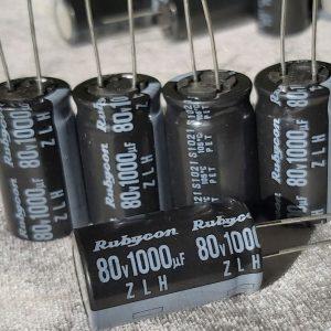خازن 1000 میکروفاراد 80 ولت