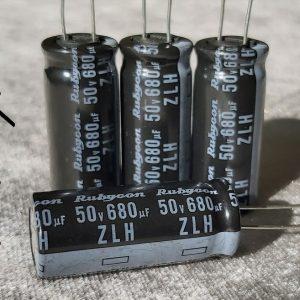 خازن 680 میکروفاراد 50 ولت