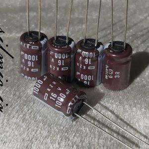 nippon kzh 1000uf 16v Ultra Low impedance