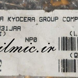 avx kyocera np0 330pf 100v