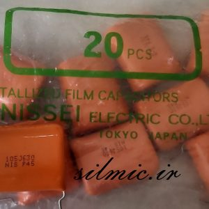 nissei p45 1uf 630v metalized capacitors