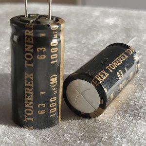 خازن های گرید 1000 میکرو فاراد 63 ولت