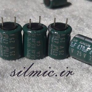 SANYO SUNCON 470UF 25V LOW ESR