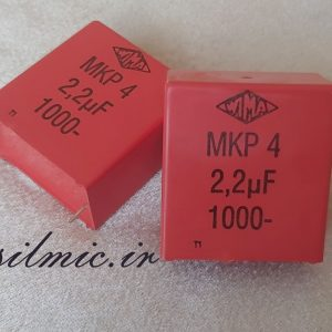 خازن 2.2 میکرو فاراد 1000 ولت