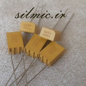 خازن تانتالیوم 3.3 میکرو فاراد 40 ولت