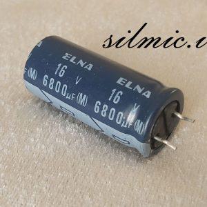 خازن 6800 میکرو فاراد 16 ولت