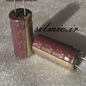 خازن 4700 میکرو فاراد 16 ولت