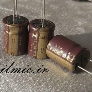 خازن 4700 میکرو فاراد 6.3 ولت