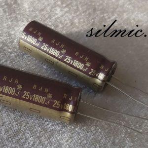 خازن 1800 میکرو فاراد 25 ولت