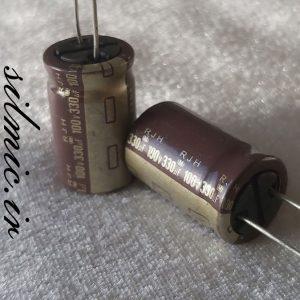 خازن 330 میکرو فاراد 100 ولت