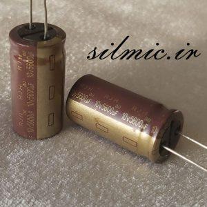خازن 5600 میکرو فاراد 10 ولت