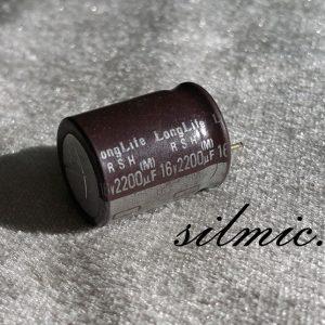 خازن 2200 میکرو فاراد 16 ولت