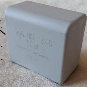 خازن فیلترینگ 50 میکرو فاراد 850 ولت