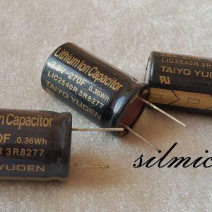 سوپر خازن 270 فاراد 3.8 ولت
