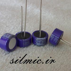 خازن جامد های فای 180 میکرو فاراد 10 ولت