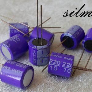 خازن جامد 220 میکرو فاراد 10 ولت