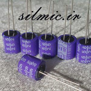 خازن جامد های فای 56 میکرو فاراد 25 ولت