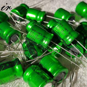 خازن ادیو 10 میکرو فاراد 63 ولت TOWA