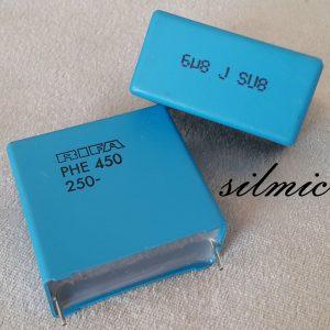 خازن 6.8 میکرو فاراد 250 ولت