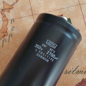 خازن 2700 میکرو فاراد 350 ولت nippon