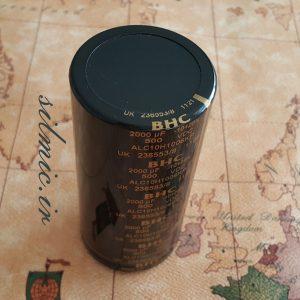 خازن 2000 میکرو فاراد 500 ولت BHC