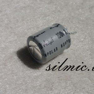 خازن بی پلار 4.7 میکرو فاراد 100 ولت