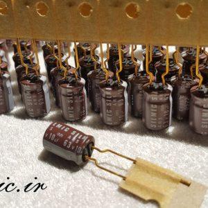 خازن سیلمیک النا 10 میکرو فاراد 63 ولت GOLD
