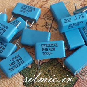 خازن 2.2 نانو فاراد 2000 ولت RIFA