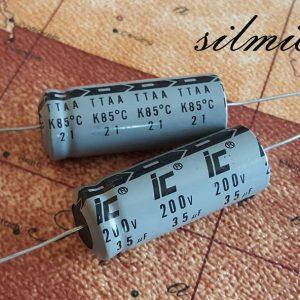 خازن 35 میکرو فاراد 200 ولت Illinois
