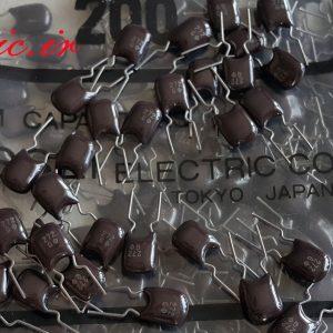 خازن پلی فنالین 2.7 نانو فاراد 50 ولت